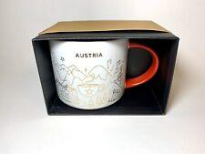 Starbucks Christmas Mug You are here Vienna Austria Weihnachten Tasse Wien 16oz