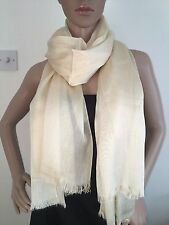 New Lightweight Shimmer Pashmina Shawl Stole Scarf Coverup