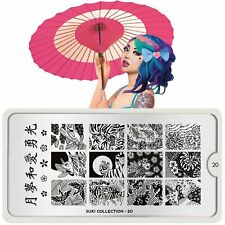 Moyou-London Nail Art Image Stamping Plate Collection Suki 20