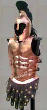 MUSCLE ARMOR JACKET COPPER FINSH MEDIEVAL ROMAN CUIRASS HALLOWEEN COSTUME