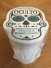 Oculto Beer Budweiser Sugar Skull Bar Coasters Coaster - 125 Sleeve Pk  NEW & FS