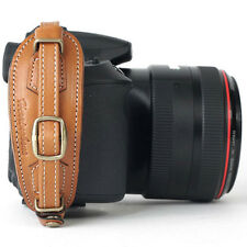 Herringbone DSLR SLR Camera Leather Hand Grip Strap Heritage Type2 Camel Brown