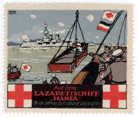(I.B-CKK) Germany (Great War) Cinderella : Red Cross Fund (Liepzig)