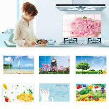 1Pc Foil Paper Wall Sticker Art Decal Kitchen Anti-oil Waterproof Decor Random