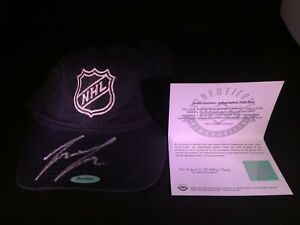 Autographed Denis Gurianov Adidas NHL Shield Hat Cap Authenticated By Upper Deck