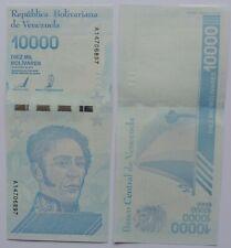 billet de 10000 bolivares du Venezuela de 2019