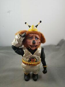 "Vintage ShowBiz Pizza Place Dook LaRue Rock-afire Explosion Band Doll  9"""