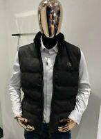 STEFANO RICCI Men's Black Gilet Size 52 / L (100% Authentic & NEW)