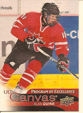 ALAN QUINE 2016-17 UPPER DECK SERIES 2 PROGRAM OF EXCELLENCE CANVAS CARD