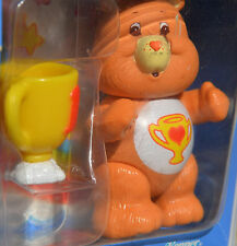 Vintage Kenner CARE BEAR Poseable Figure TOY CoMpLeTe & Accessory Trophy CHAMP
