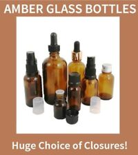 Glass Bottle Homeopathic & Herbal Remedies Aromatherapy Supplies