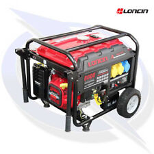 Loncin LC8000D-AS 7.5KVA/6KW Frame Mounted Petrol Generator - Electric Start