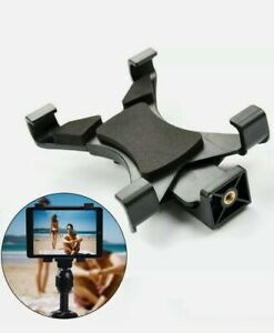 """Tablet Tripod Mount Clamp Holder for Apple iPad Air Mini Samsung 7-10"""" Tablets"""
