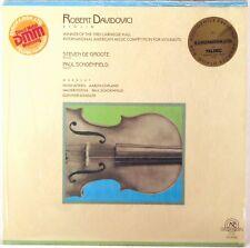 SEALED NEW WORLD RECORDS AUDIOPHILE 1987 Copland Piston DAVIDOVICI Violin NW-334