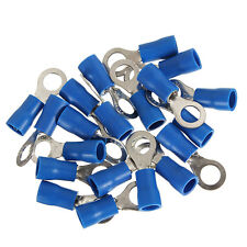 20pcs Ring Ground Insulated Wire Connector Electrical Crimp Terminal 14-16AWG M5