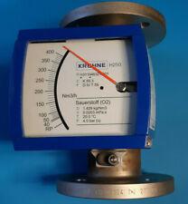 Krohne H250/RR/M9/ESK-Ex Sauerstoff O2 Schwebekörper Durchfluss Messer DN50 PN40