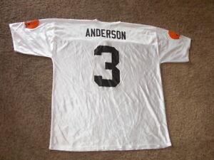 CLEVELAND BROWNS Derek Anderson white Football Jersey men's 2XL