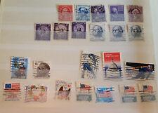 194 Briefmarken Stamps USA UNITED STATES Sammlung collection Used Gestempelt