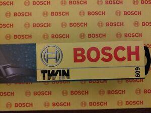 "BOSCH Twin 609 24"" x 2  Windscreen Wiper Blades"