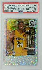 2017 Optic The Champ is Here Fast Break Prizm Kobe Bryant #6, PSA 10, Pop 12
