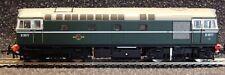 Heljan OO BR Plain Green Early Version Class 33 Diesel Loco D6577