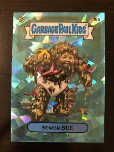 2020 Garbage Pail Kids GPK Sapphire Teal Parallel Sewer Sue 79a 50/99