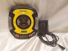 PANASONIC Portable CD Player SL-SW505 Shock Wave 40Sec Anti-Shock Yellow TESTED