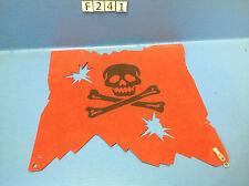 (F241) playmobil grande voile bateau pirates rouge ref 3174