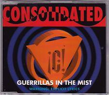 Consolidated - Guerrillas In The Mist - CD 3 x Remixes Nettwerk NET048  Austria