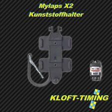 Mylaps X2 Supporto plastica con Clip in metallo NUOVO