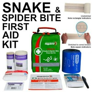 Premium Snake and Spider Bite Kit with Tension Indicator Bandage FIRST AID KIT
