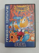 Sega Mega Drive Dynamite Headdy PAL-Version CHECK PICS FOR ITEM CONDITION!