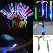 100 LED ROCKETS AND LAUNCHERS  WHOLESALE