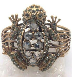 Chico's  gold frog  bracelet NWT