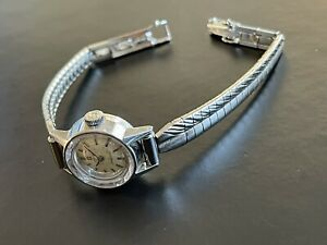 Vintage Ladymatic Omega 24 Jewels Lady's Cocktail Watch Cal. 661 / 551004 Runs