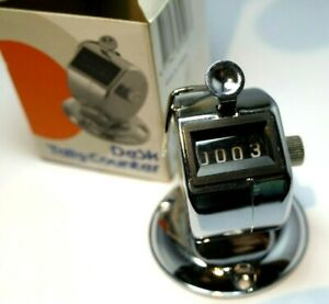 Desk Model Tally Counter With Screws KW-trio Brand 2420