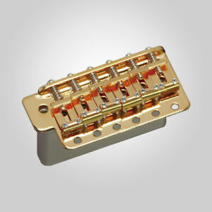 NEW Gotoh GE101TS Traditional Vintage Tremolo for Strat Steel Block - GOLD