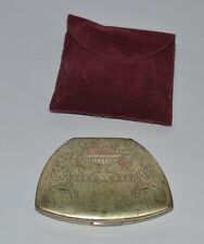 Vintage makeup powder compact mirror Elgin