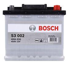 BOSCH S3 002 45Ah 12V AUTOBATTERIE STARTERBATTERIE PKW-BATTERIE 31836138