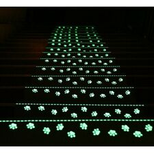 4Pcs Stair Tread Carpet Non Slip Mats Luminous Step Staircase Cover Pads