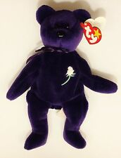 Ultra RARE TY Princess Diana 1st Edition Beanie Baby 1997 Retired MINT Tab - PVC