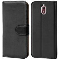 Handy Tasche für Nokia 3.1 Flip Case Schutz Hülle Cover Wallet Etui Bookcase