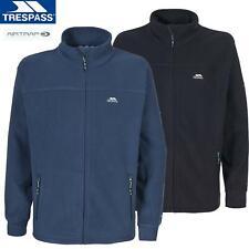 Trespass Mens Bernal Full Zip Up Sueded Fleece Jacket Coat Zip Pockets