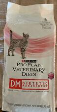 Purina DM Dietetic Management FELINE Formula, Dry 6 lbs- Damaged bag