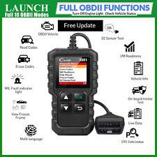 LAUNCH Car Engine Diagnostic Scanner OBD2 Fault Code Reader Reset Tool CAN EOBD
