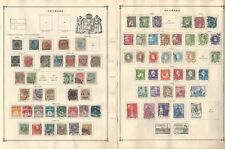 Denmark Collection 1851 to 1940 on 5 Scott International Pages, SCV $760