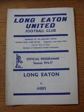 1976/1977 largo Eaton Unidos V Ashby (marcas débil)