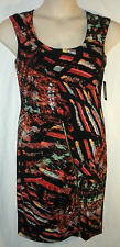 NWT GUESS Women's Sleeveless Dress w/ Front Zipper and Oval Cutout Back, Size 8
