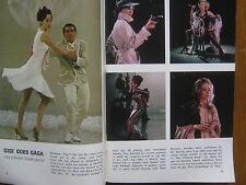 NOVEMBER-1964 TV Guide(LESLIE  CARON/LAURA  GREENE/DANIELA BIANCHI/MICHAEL BURNS