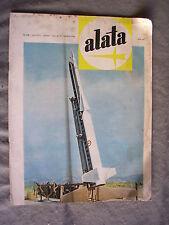 ALATA # 206 - RIVISTA AERONAUTICA - AGOSTO 1962 - BUONO